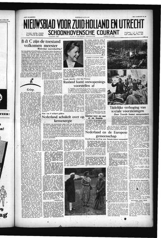 Schoonhovensche Courant 1957-07-10