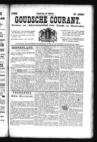 Goudsche Courant 1892-10-20