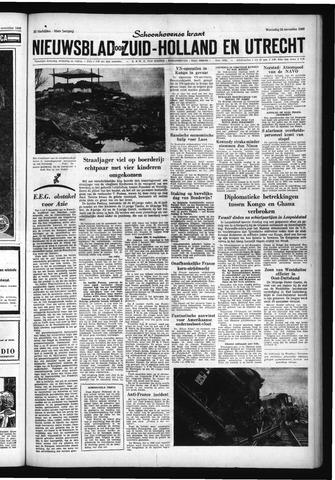 Schoonhovensche Courant 1960-11-23