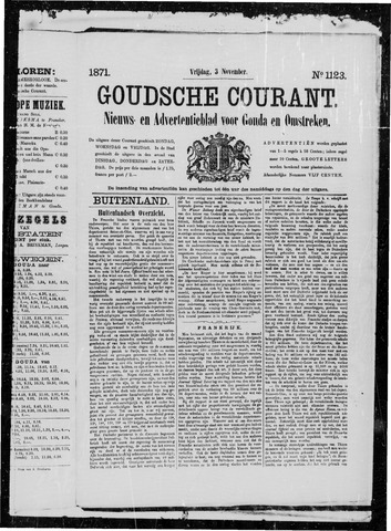 Goudsche Courant 1871-11-03
