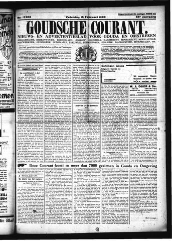 Goudsche Courant 1930-02-15