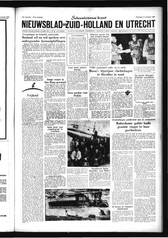 Schoonhovensche Courant 1959-11-04