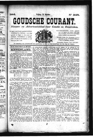 Goudsche Courant 1884-10-24