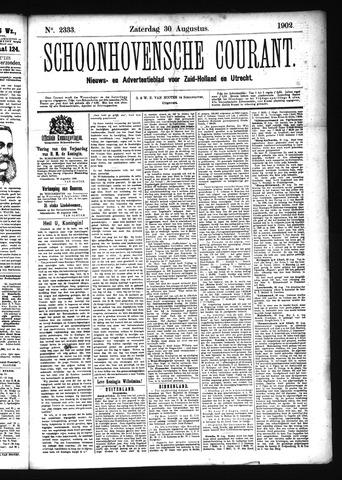 Schoonhovensche Courant 1902-08-30