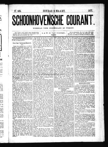 Schoonhovensche Courant 1877-03-18