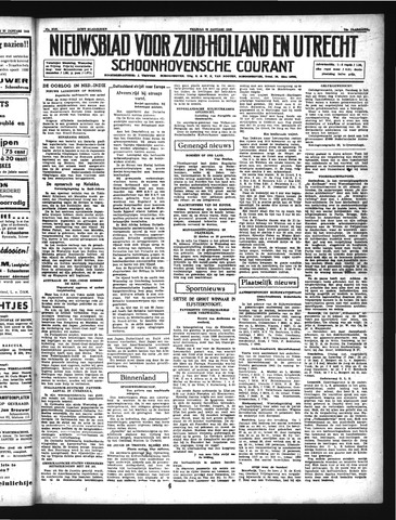 Schoonhovensche Courant 1942-01-23