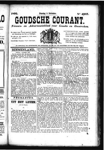 Goudsche Courant 1892-11-08