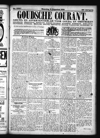 Goudsche Courant 1925-08-31