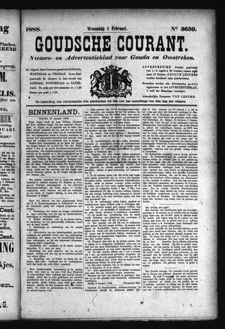 Goudsche Courant 1888-02-01