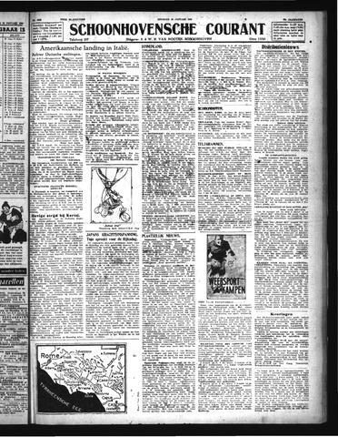 Schoonhovensche Courant 1944-01-25