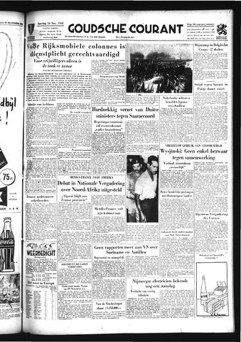 Goudsche Courant 1954-11-13