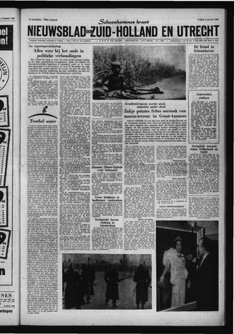 Schoonhovensche Courant 1961-01-06
