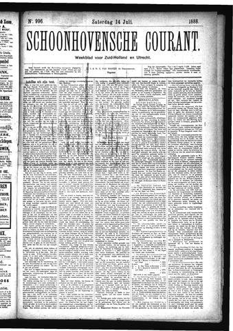 Schoonhovensche Courant 1888-07-14