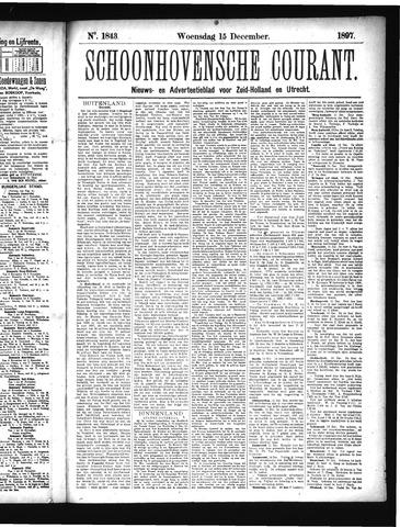 Schoonhovensche Courant 1897-12-15