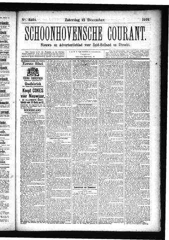 Schoonhovensche Courant 1912-12-21
