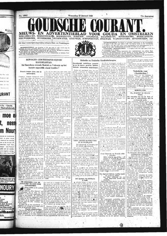 Goudsche Courant 1939-01-25