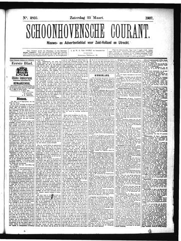 Schoonhovensche Courant 1907-03-23