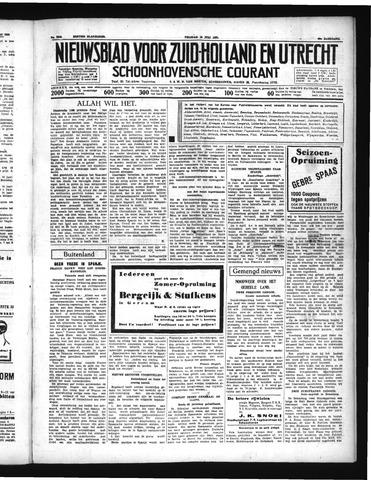 Schoonhovensche Courant 1937-07-16