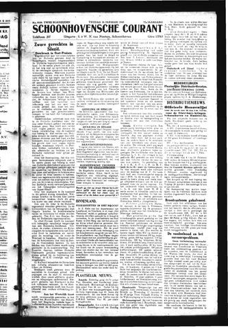 Schoonhovensche Courant 1945-01-26