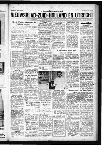 Schoonhovensche Courant 1960-02-15