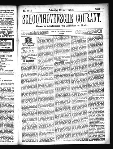 Schoonhovensche Courant 1899-11-18