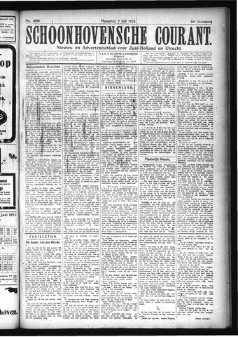 Schoonhovensche Courant 1923-07-02