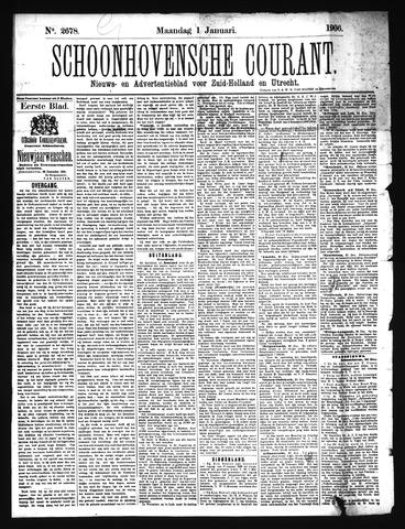 Schoonhovensche Courant 1906