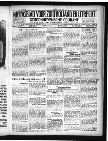 Schoonhovensche Courant 1936-04-27