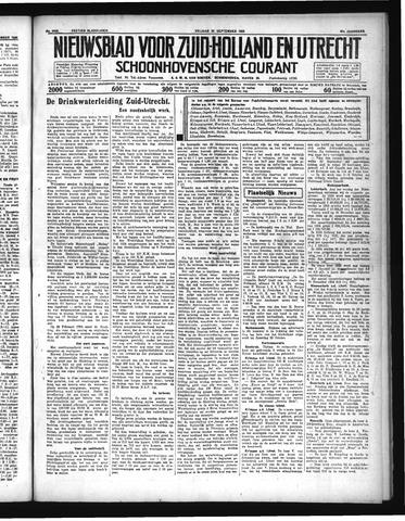 Schoonhovensche Courant 1935-09-20