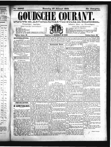Goudsche Courant 1913-01-27