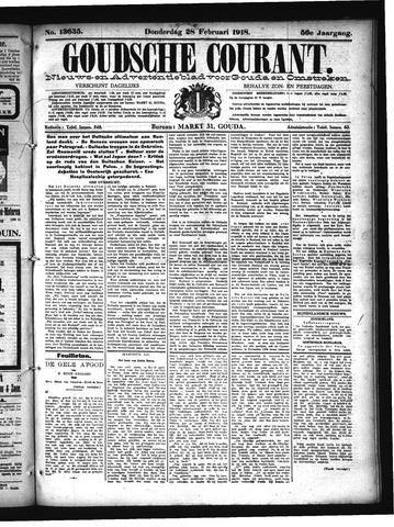 Goudsche Courant 1918-02-28