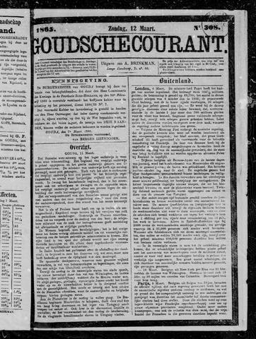 Goudsche Courant 1865-03-12