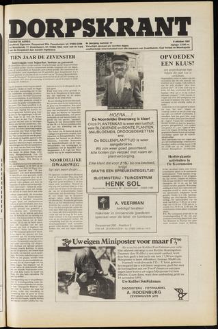 Dorpskrant 1981-10-09
