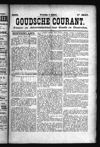 Goudsche Courant 1888-01-04