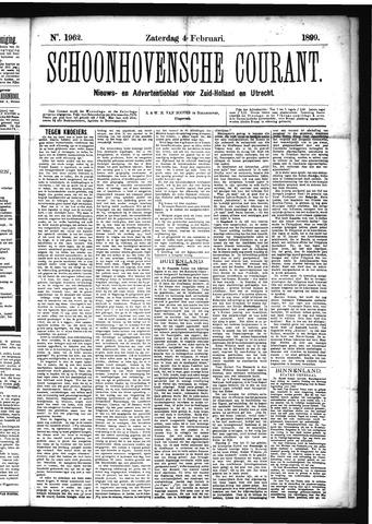 Schoonhovensche Courant 1899-02-04