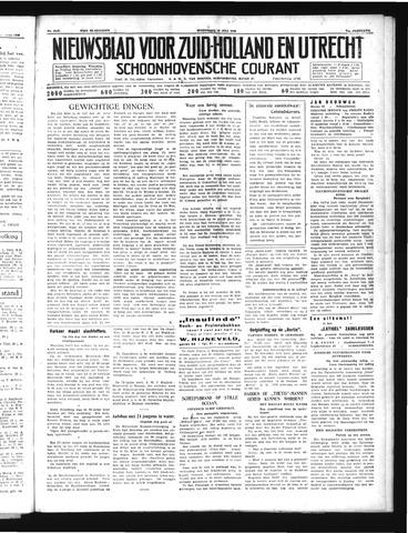 Schoonhovensche Courant 1939-07-19