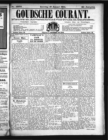 Goudsche Courant 1914-01-10