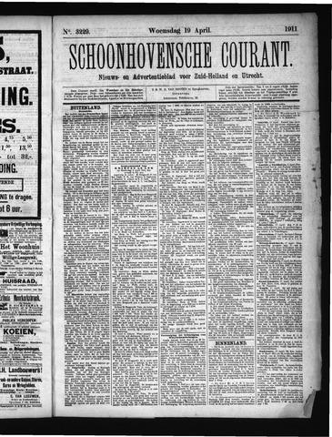 Schoonhovensche Courant 1911-04-19