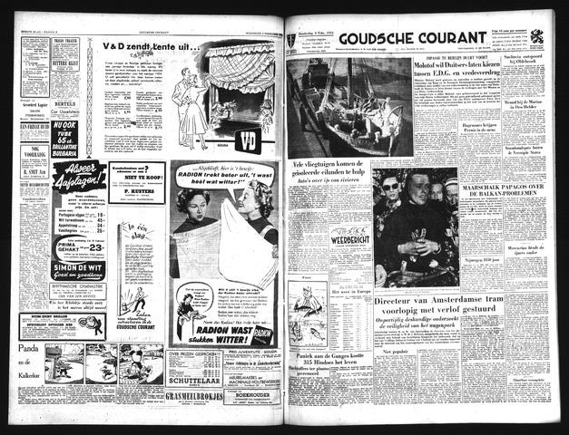 Goudsche Courant 1954-02-04