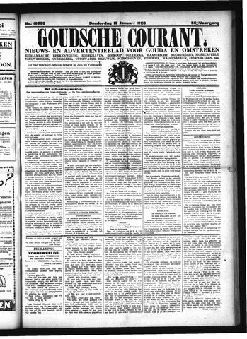 Goudsche Courant 1928-01-19