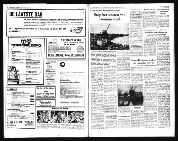 Schoonhovensche Courant 1971-02-05