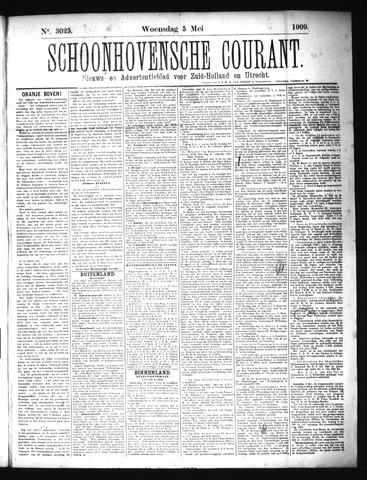 Schoonhovensche Courant 1909-05-05