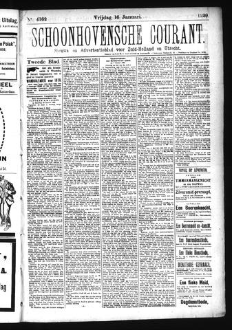 Schoonhovensche Courant 1920-01-16