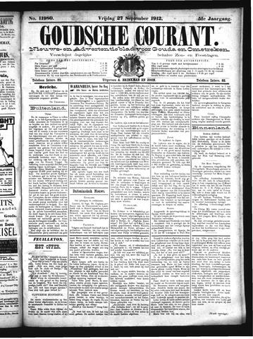 Goudsche Courant 1912-09-27