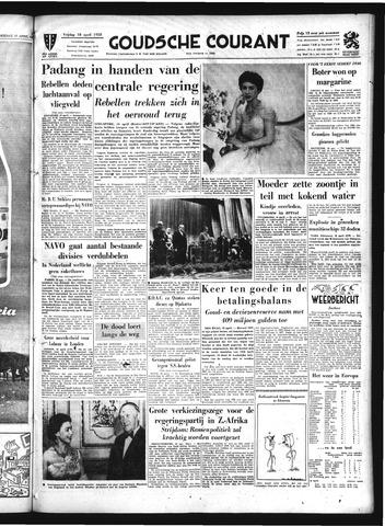 Goudsche Courant 1958-04-18