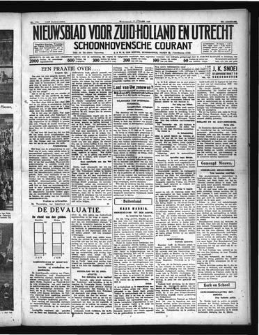 Schoonhovensche Courant 1936-10-14