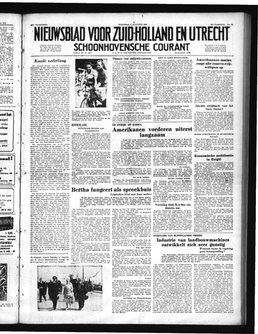 Schoonhovensche Courant 1950-08-09