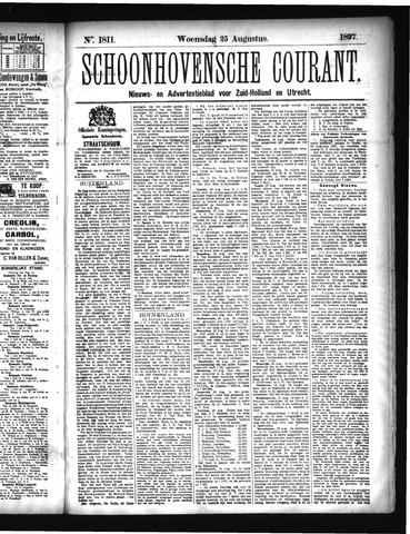 Schoonhovensche Courant 1897-08-25