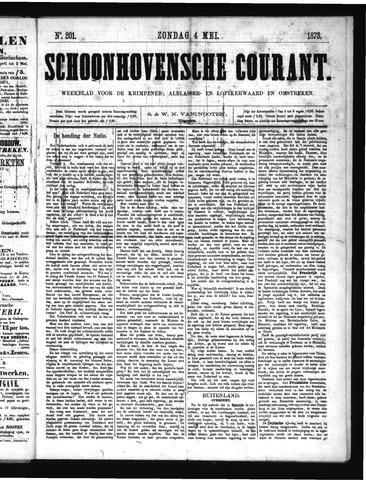 Schoonhovensche Courant 1873-05-04