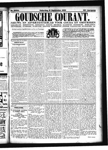 Goudsche Courant 1925-09-19